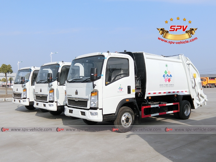 Garbage Compactor Truck - HOWO - LF