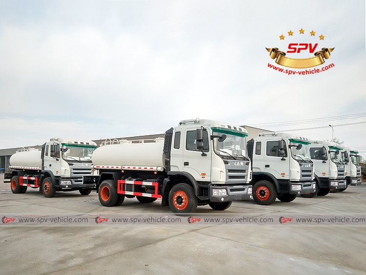 8 units of Water Tanker Truck to Latin America -1