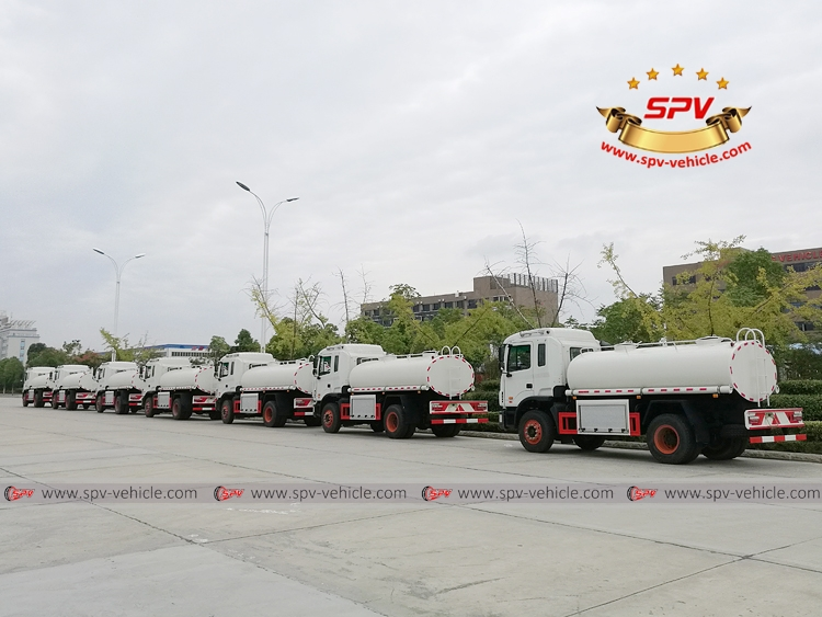 8 units of Water Tanker Truck to Latin America -4
