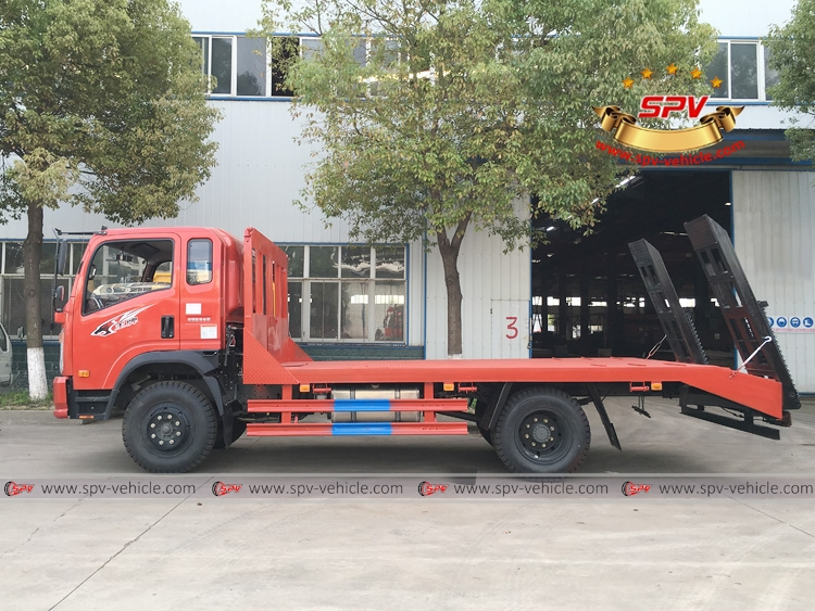 Excavator Carrier Lorry Sinotruk - RS