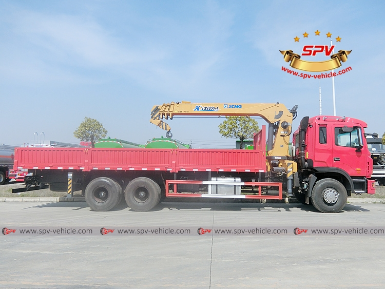 Mobile Crane Truck JAC - RS