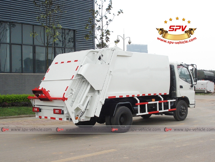 Compactor Garbage Truck FOTON - RB