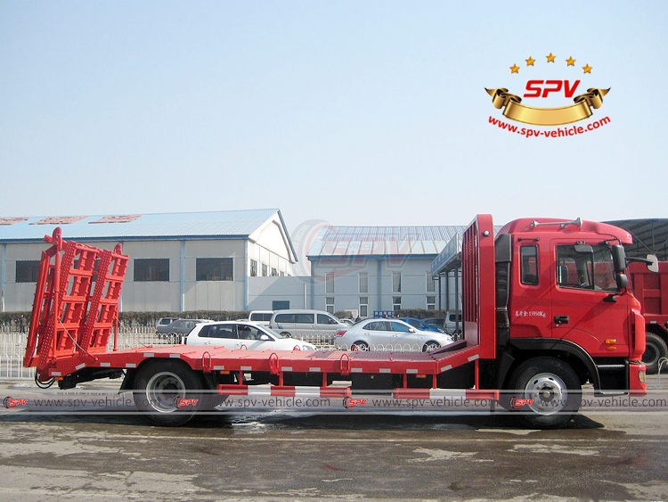 Flat Bed Transport Truck JAC - RS