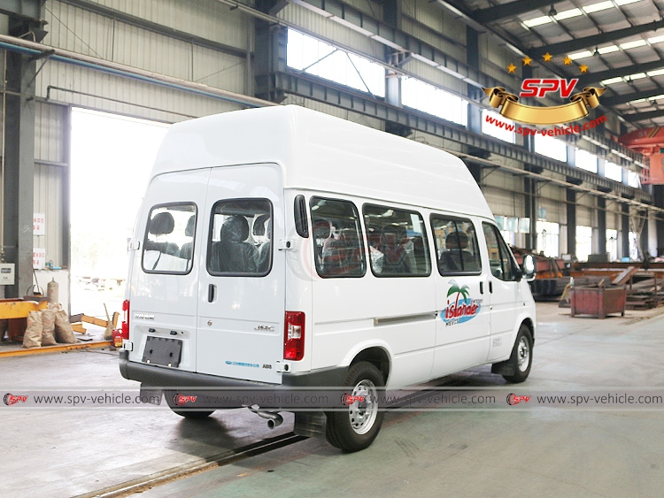 15 Seats Mini Bus JMC - RB