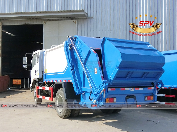 8 CMB Compactor Garbage Truck Sinotruk - LB