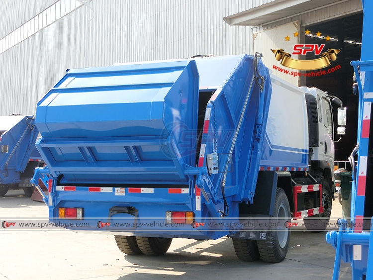 8 CMB Compactor Garbage Truck Sinotruk - RB