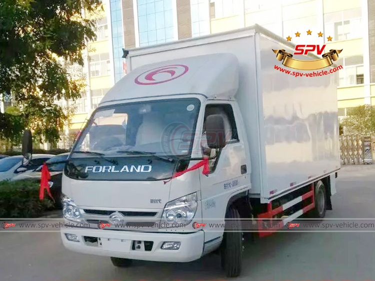 Mobile Show Truck Forland - LF