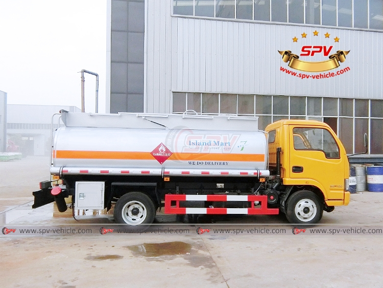 4,000 litres Fuel Dispensing Truck Yuejin - RS