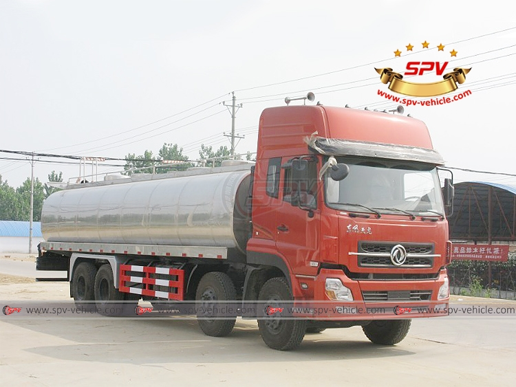 25,000 litres Milk Tank Truck Dongfeng - RF