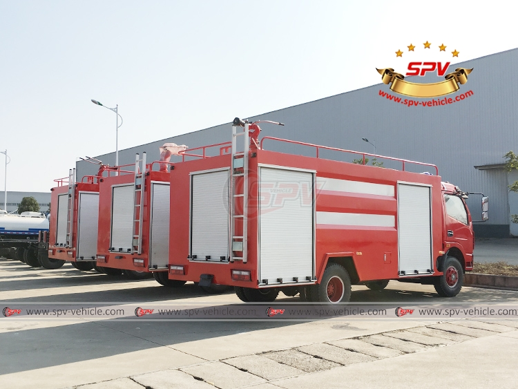 4,000 litres Fire Fighting Truck Dongfeng - RB