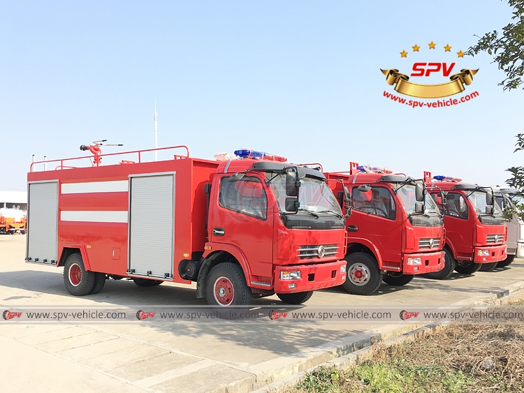 4,000 litres Fire Fighting Truck Dongfeng - RF