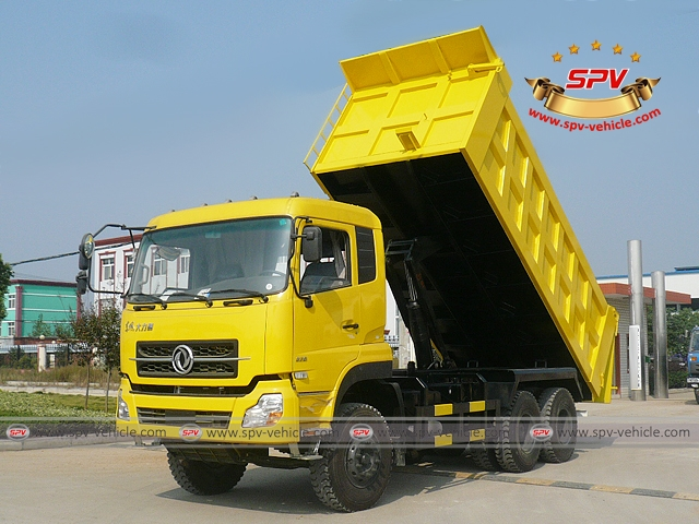 To Algeria 2 More Units Of Dump Trucks Dongeng In April