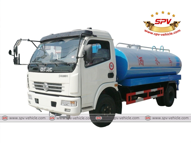 6,000 Litres (1,580 Gallons) Water Tank Lorry, Water