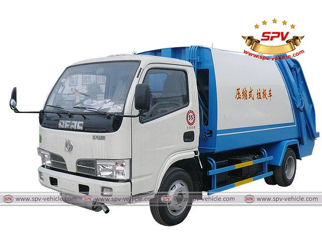 Trush Compactor Dongfeng