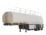 Stainless Steel Fuel Tank Semi-trailer