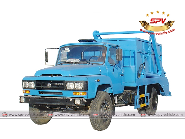 Swing Arm Garbage Truck Dongfeng