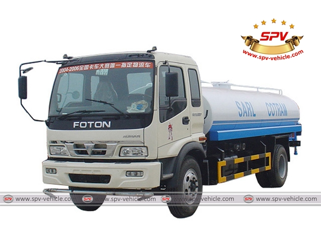 Water Transport Truck Foton