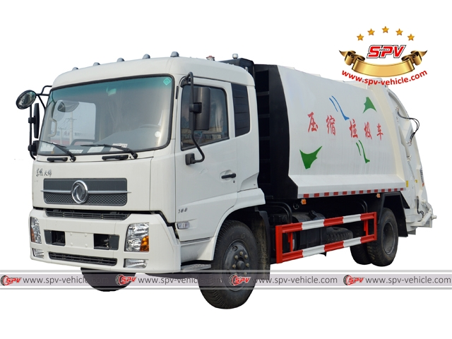 Compression Garbage Truck Dongfeng