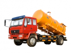 Sewer Suction Truck Sinotruk