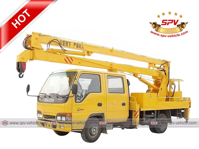 Bucket Lift Truck ISUZU