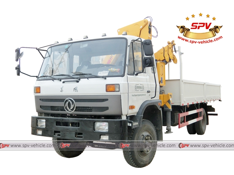 Self Loader Truck Dongfeng