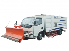 Road Sweeper with Snowplow Dongfeng