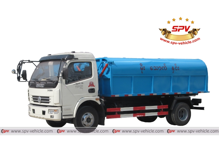 Garbage Tipper Truck Dongfeng