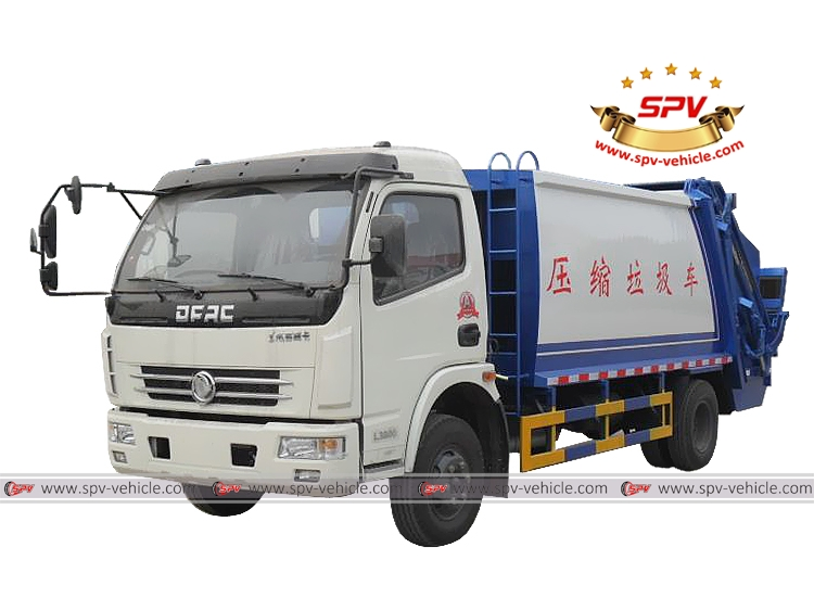 Garbage Compactor Truck Dongfeng