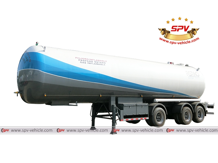 LPG Tank Semi-trailer(3 Axles)