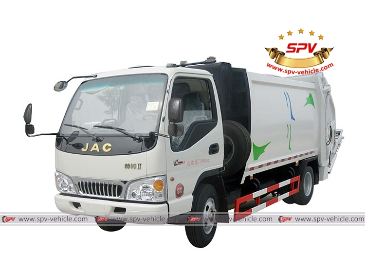 Trash Collection Truck JAC