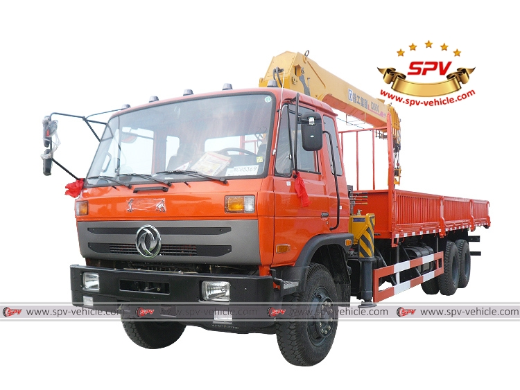 Boom Crane Truck Dongfeng