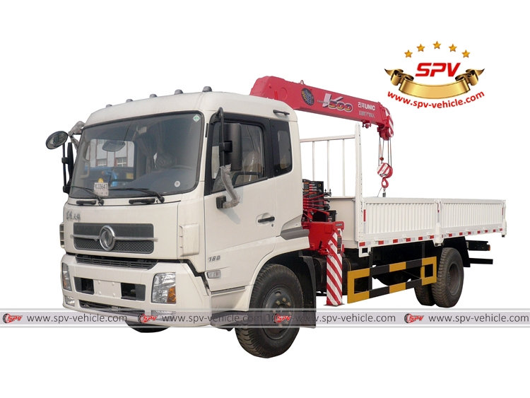 Truck Mounted Crane Dongfeng