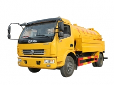 Combined Jet Suction Truck Dongfeng