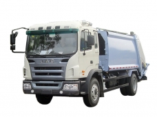Compactor Garbage Truck JAC