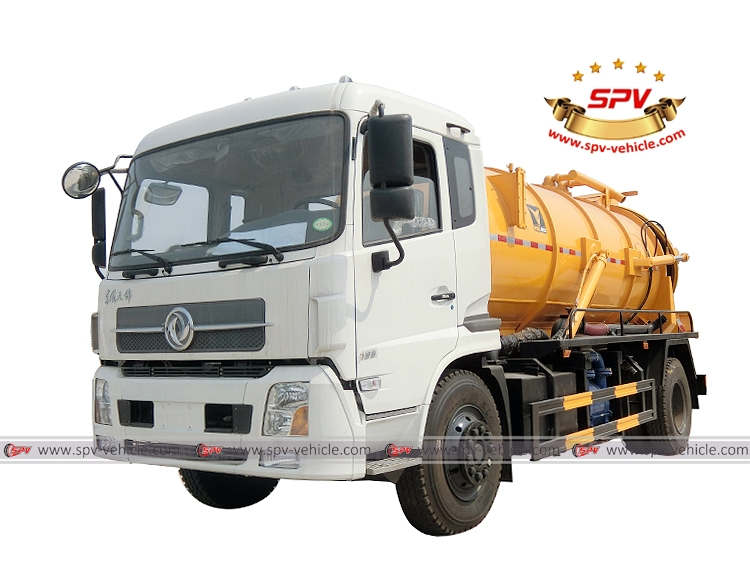Gully Emptier Truck Dongfeng