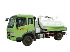 Fecal Suction Truck FAW