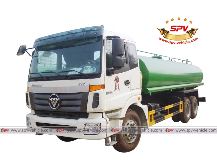 20,000 Litres (5,200 Gallons) Water Tank Truck, Water Delivery Truck