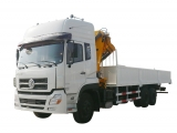 Articulated Crane Truck Dongfeng