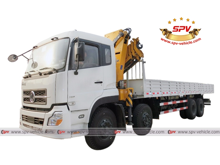 Knuckle Crane Truck Dongfeng