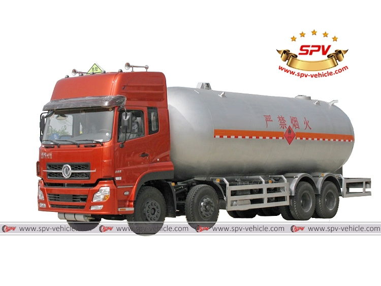 LPG Tank Truck Dongfeng