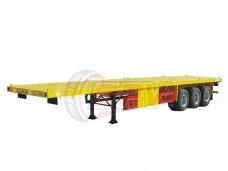 3-axle Flatbed Semi-trailer
