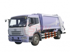 Waste Compactor Truck FAW
