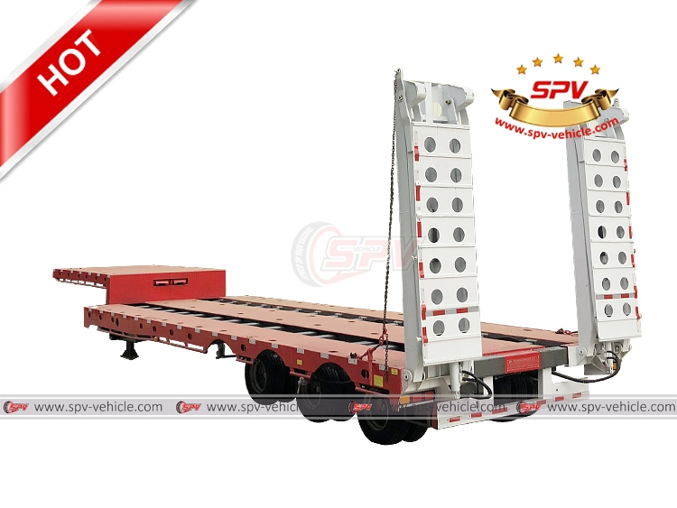 Extendable Flatbed Semi-trailer