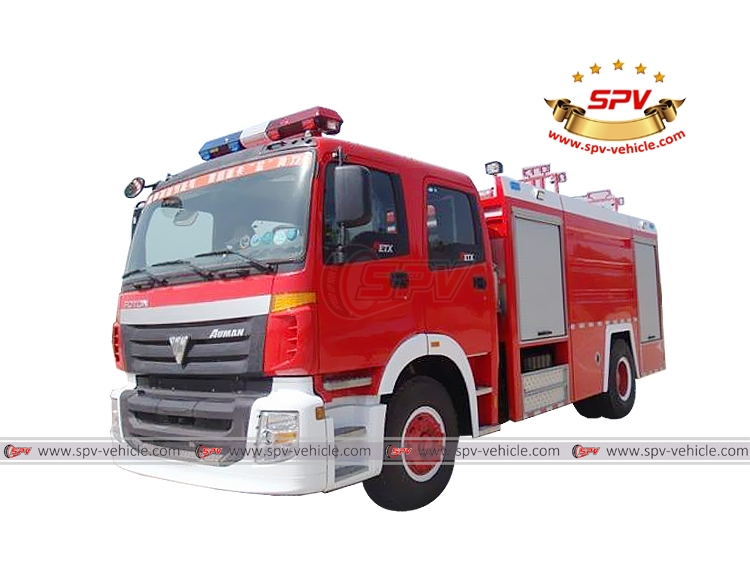 Fire Fighting Truck FOTON
