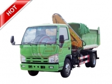 Tipper Truck with Crane ISUZU
