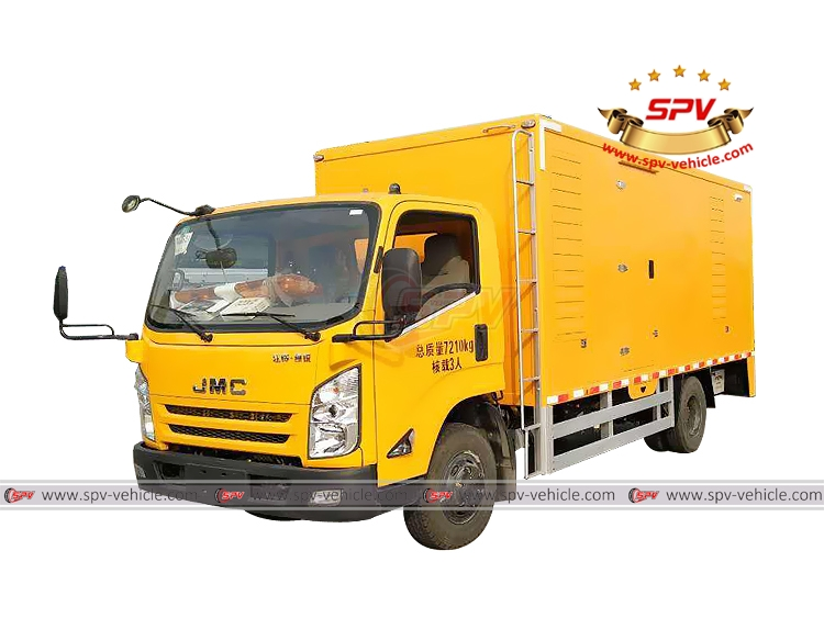 Vehicle Mounted Generator JMC