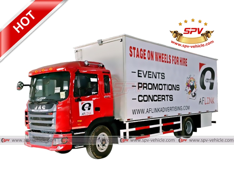Mobile Stage Truck JAC