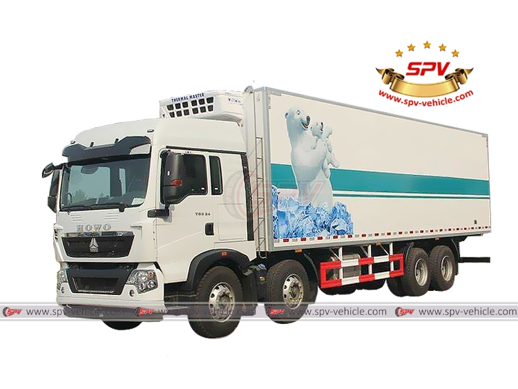 Freezer Vehicle Sinotruk