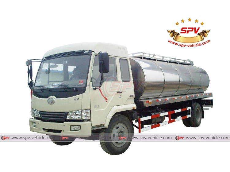 Stainless Steel Milk Truck FAW