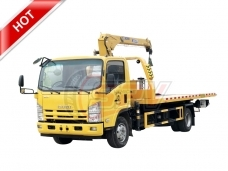 Road Wrecker Truck with Crane ISUZU